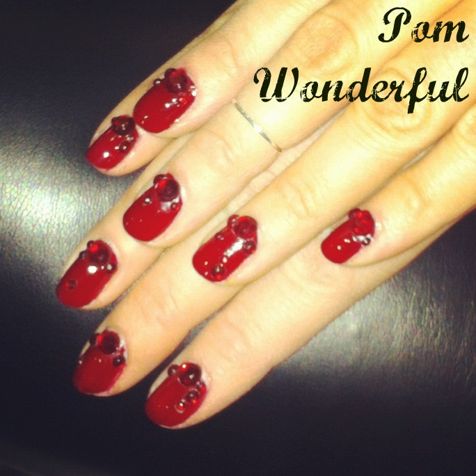 Show me the mani pom wonderful nail art tutorial the girl is image prinsesfo Image collections