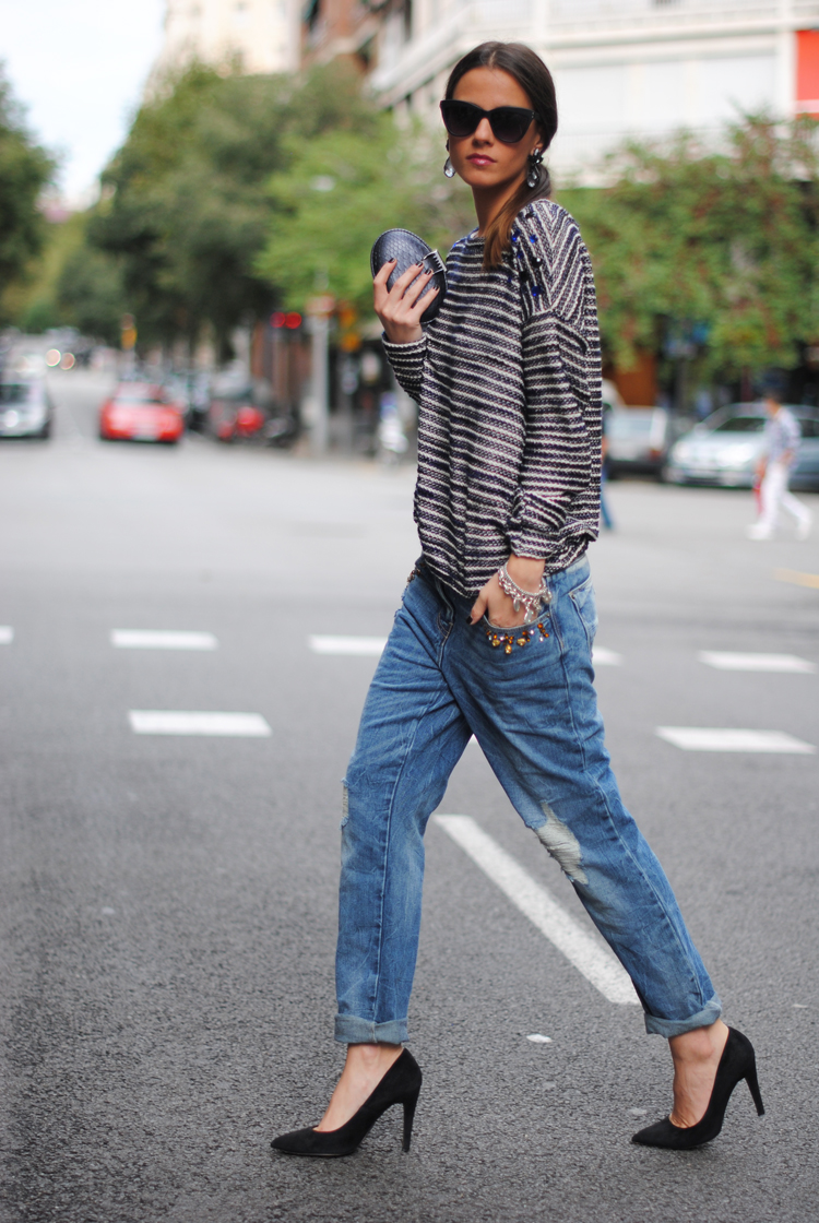 boyfriend jeans | the girl is polished